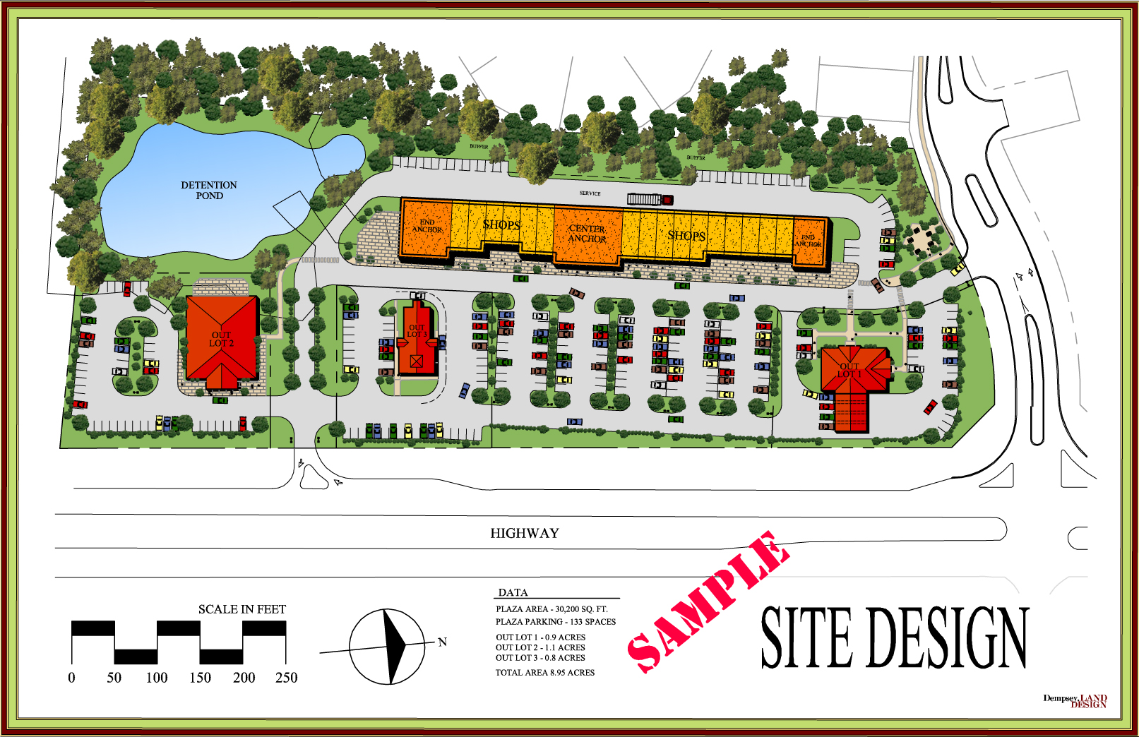 Business Commercial Site Planning Dempsey Land Design