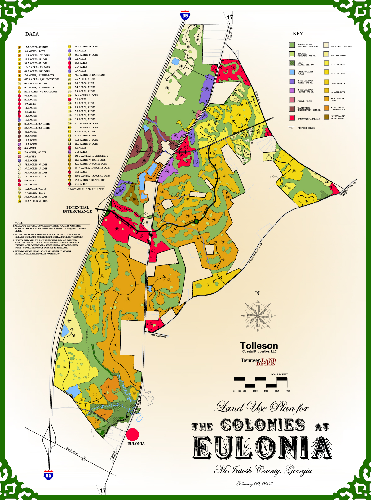 The Colonies at Eulonia Land Use Planning