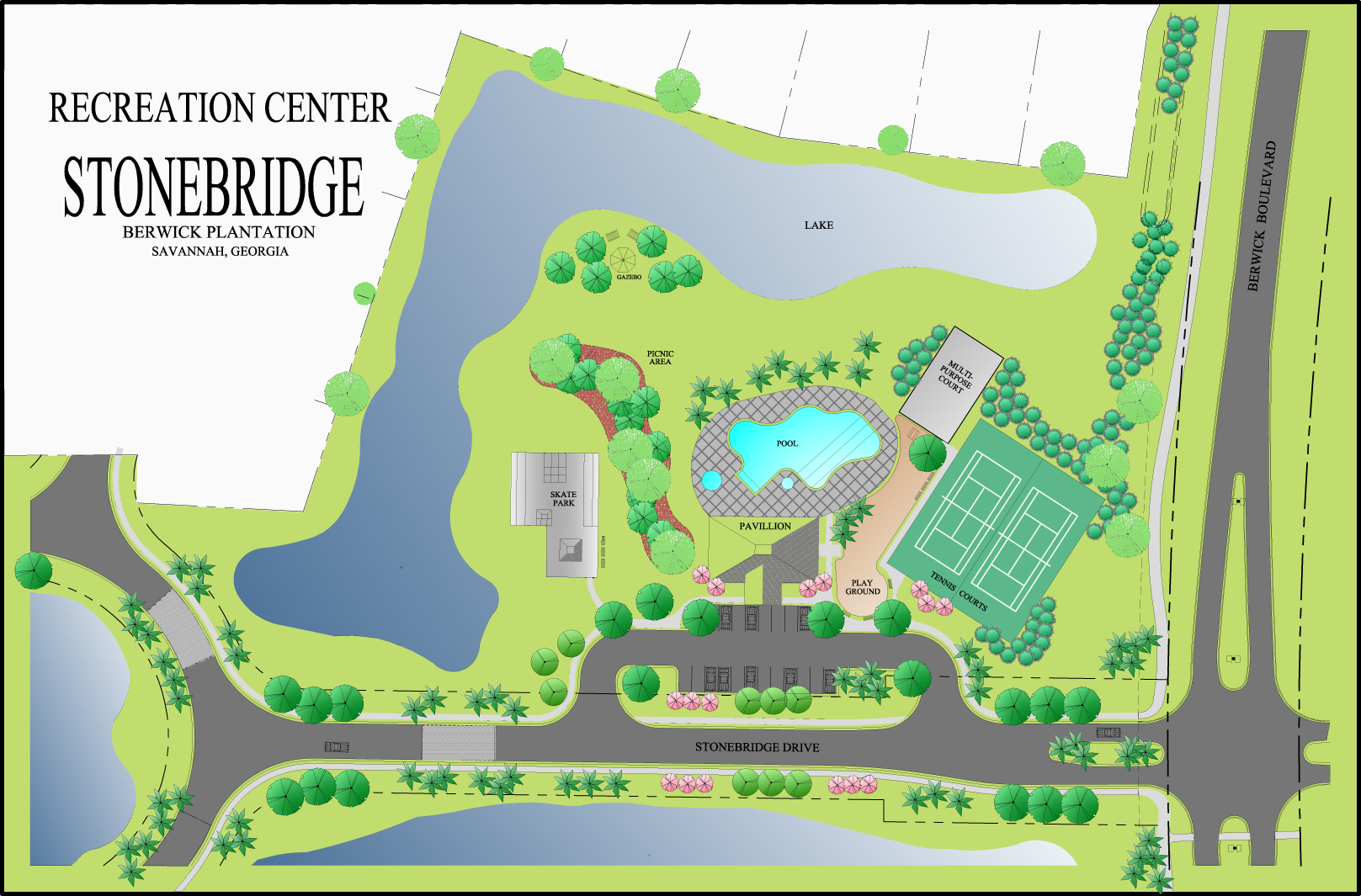 Stonebridge Recreation Center Marketing Tool
