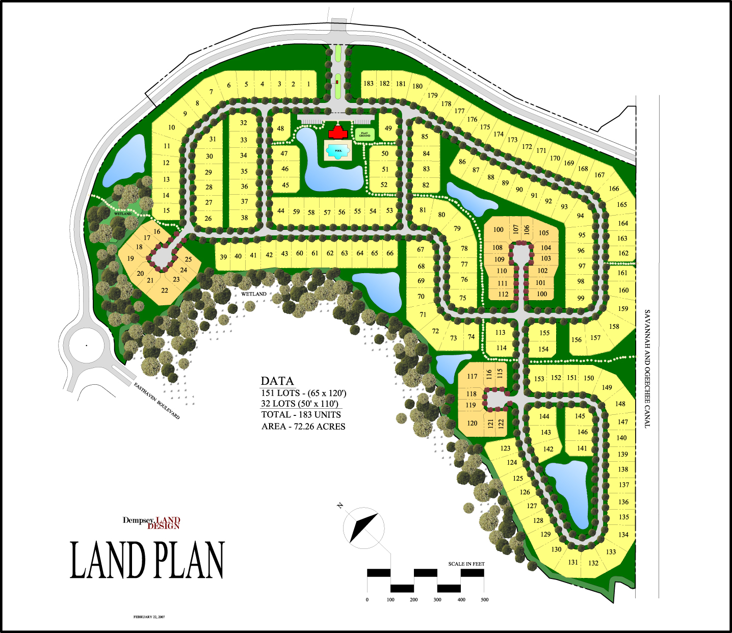 183 Unit Land Plan