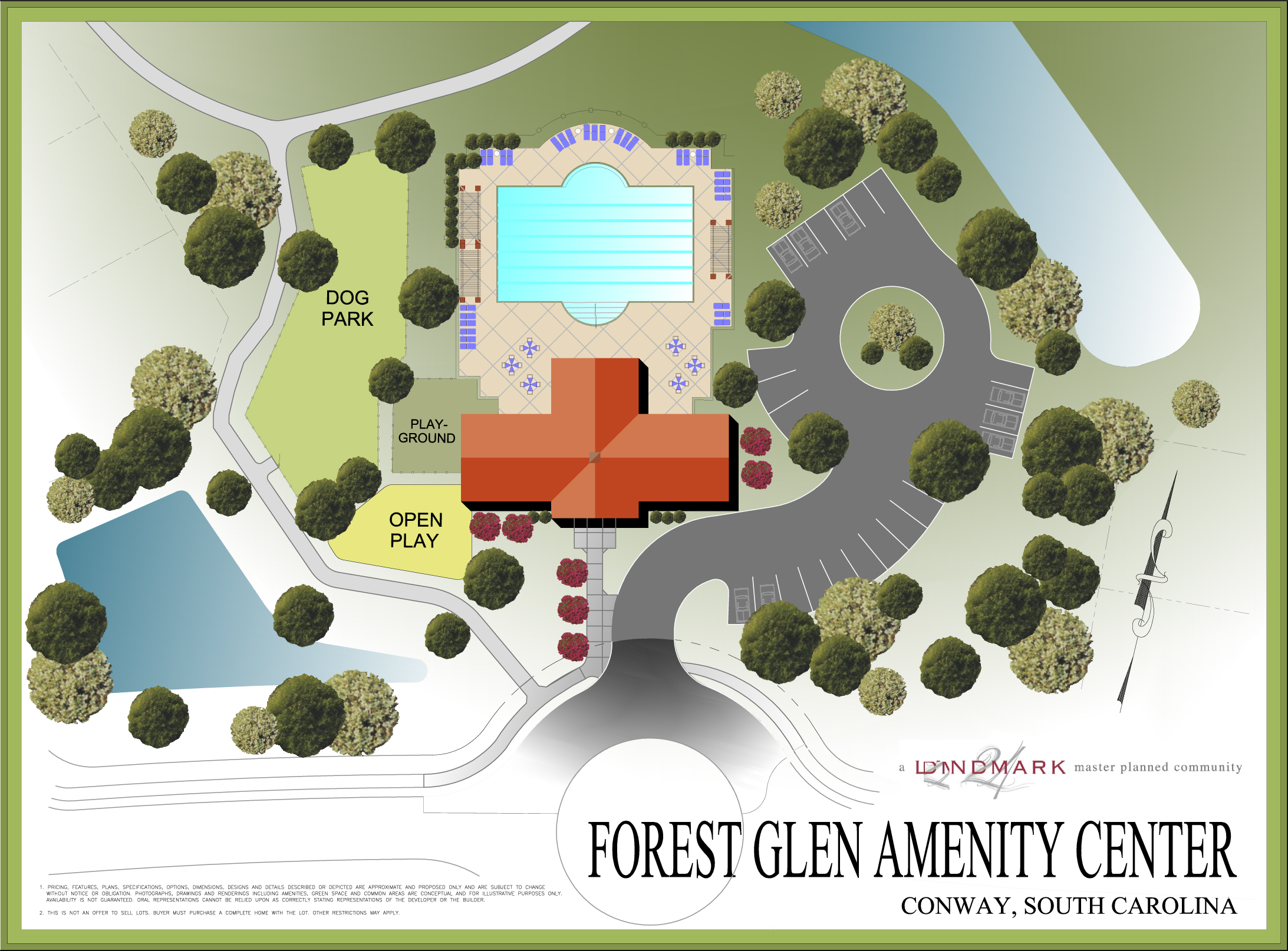 Forest Glen Amenity Center, Conway, South Carolina