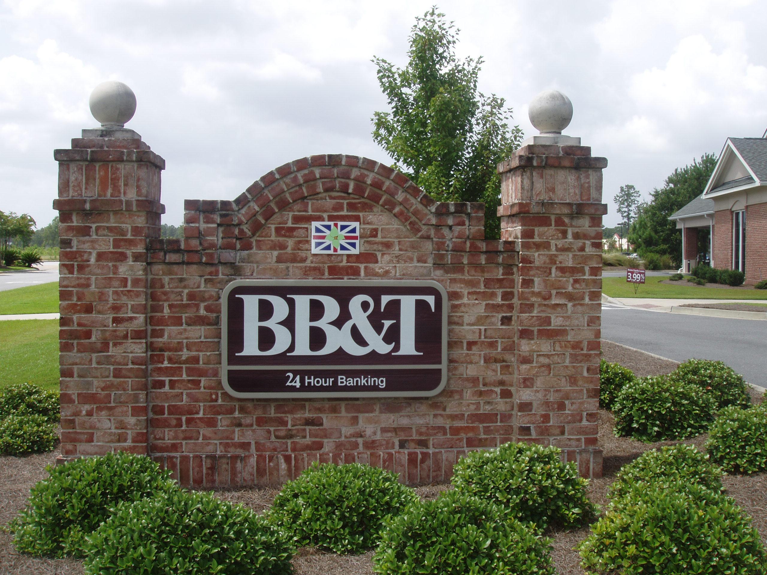BB&T Bank Signage