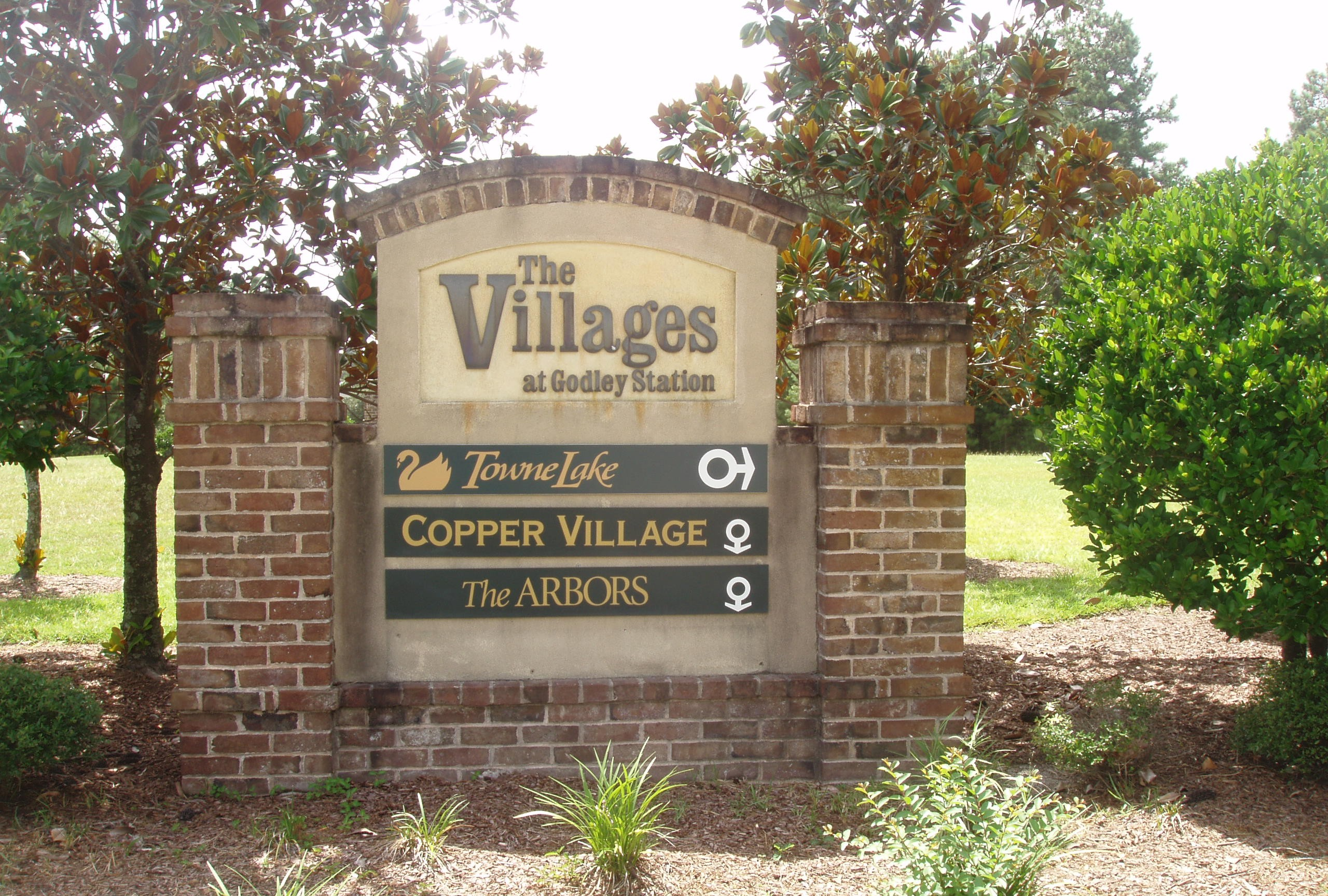 The Villages at Godley Station Signage