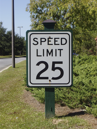 Speed Limit Design/Signage
